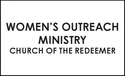 Women's Outreach Ministry Church of the Redeemer