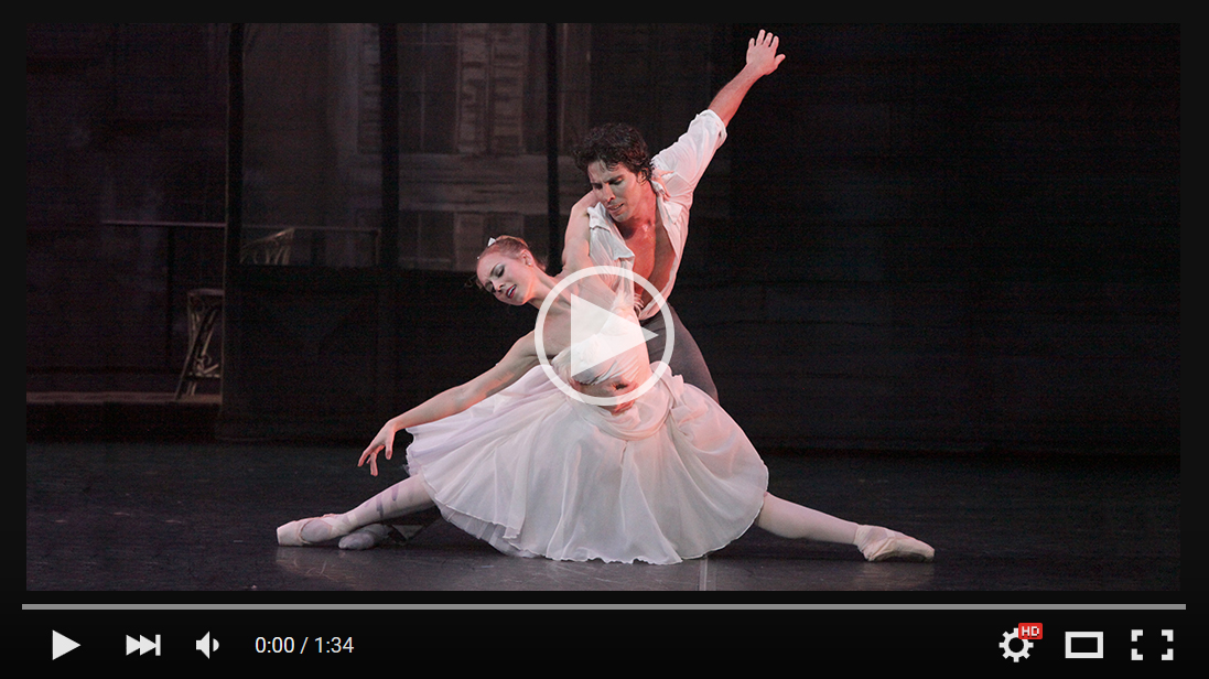 Video of The Sarasota Ballet in The Two Pigeons