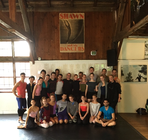 Image of The Sarasota Ballet in Studio at Jacob's Pillow