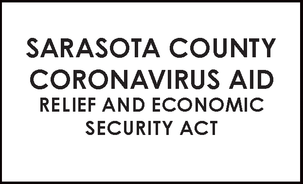 Sarasota County Coronavirus Aid Relief and Economic Security Act
