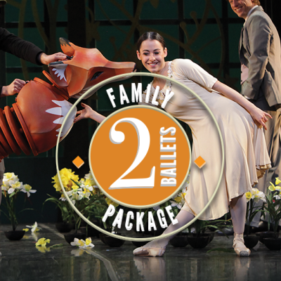 The Sarasota Ballet's Family Package