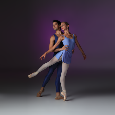Image of Edward Gonzalez and Ellen Overstreet in Concerto/choreography Sir Kenneth MacMillan