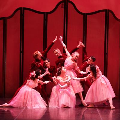 Image of The Sarasota Ballet in Valses nobles et sentimentales