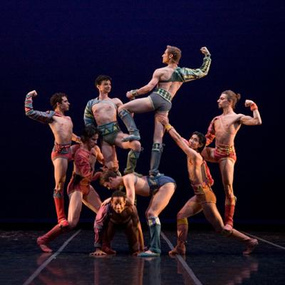 Robert North's Troy Game - The Sarasota Ballet - Moving Identities